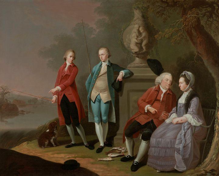Johann Zoffany~The Cope Family - Artmaster