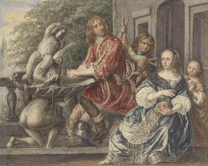 Matthijs Maris~Cornelis de Wit en zi - Artmaster