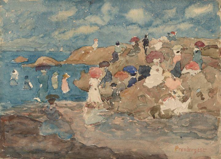 Maurice Prendergast~Revere Beach - Artmaster