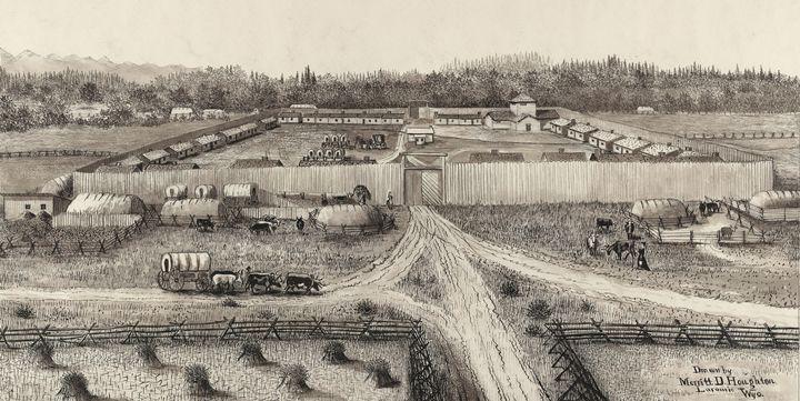 Merritt Dana Houghton~Fort Supply - Artmaster