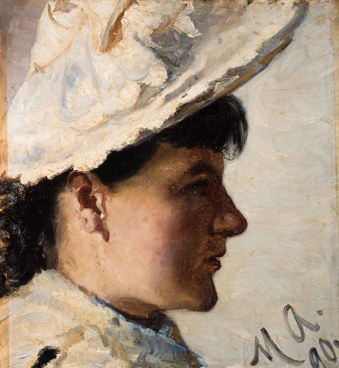 Michael Ancher~Gerda Ahlborn - Artmaster
