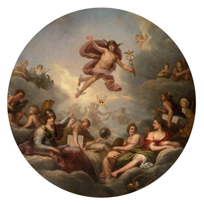 Michel Corneille the Elder~Mercury c - Artmaster