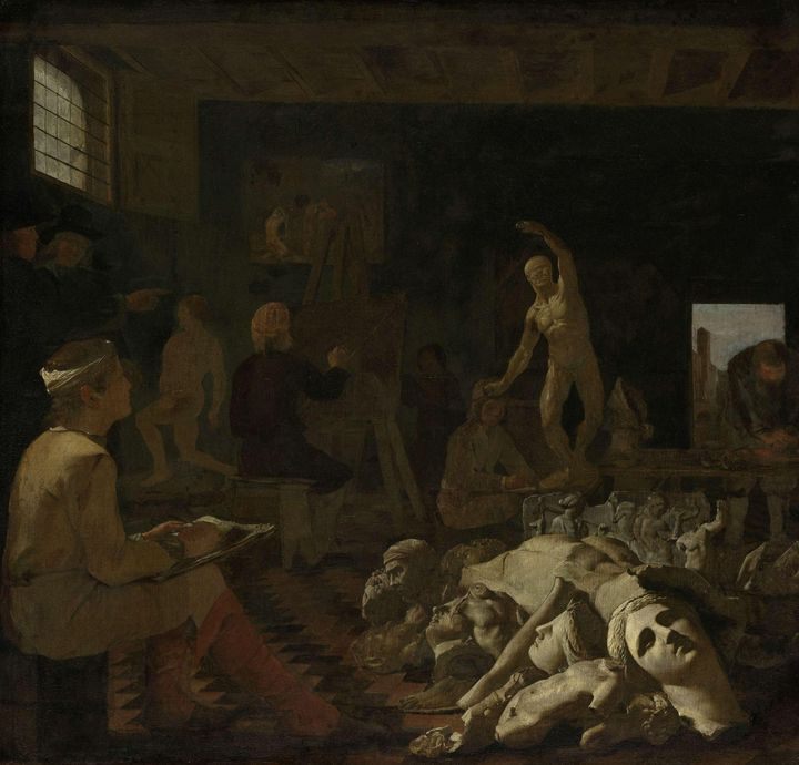 Michiel Sweerts~A Painter's Studio - Artmaster