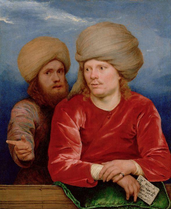 Michiel Sweerts~Double Portrait - Artmaster