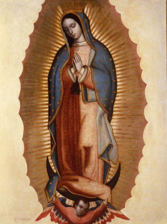 Miguel Cabrera~Virgen of Guadalupe ( - Artmaster