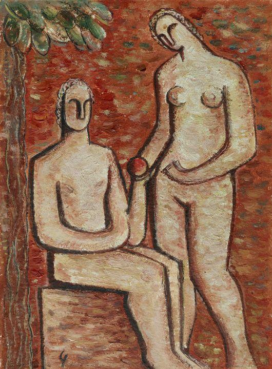 Mikuláš Galanda~Adam and Eve - Artmaster