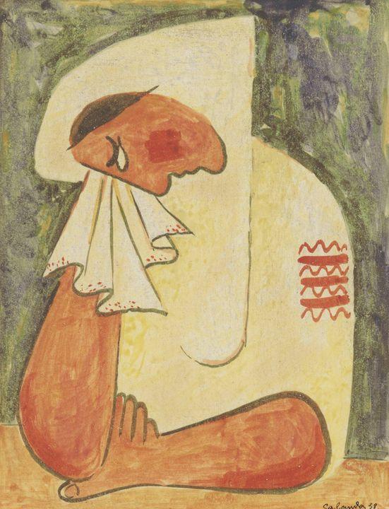Mikuláš Galanda~Crying Woman - Artmaster