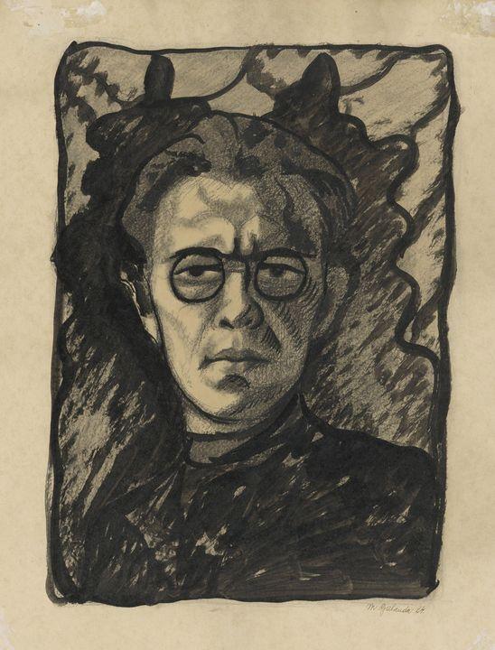 Mikuláš Galanda~Self-portrait - Artmaster
