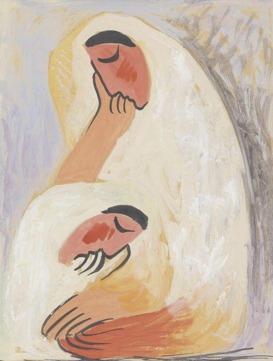 Mikuláš Galanda~Two Women. Girlfrien - Artmaster