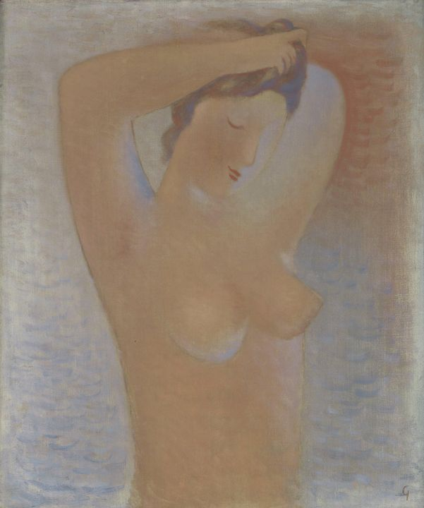 Mikuláš Galanda~Woman Combing Her Ha - Artmaster