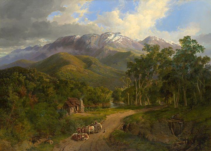Nicholas Chevalier~The Buffalo Range - Artmaster