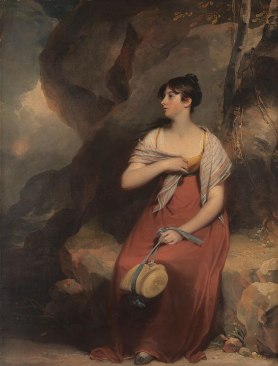 Sir Martin Archer Shee~A Woman in a - Artmaster