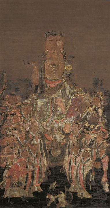 Unknown~Painting of Ksitigarbha Bodh - Artmaster