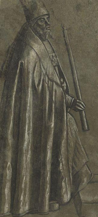 Vittore Carpaccio~Bishop Holding a C - Artmaster