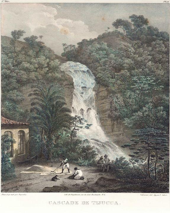Johann Moritz Rugendas~Cascade de Ti - Artmaster