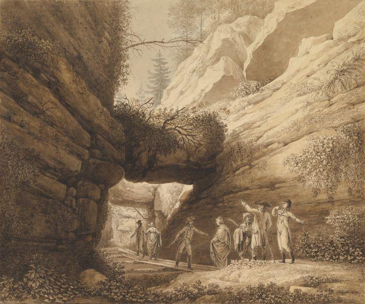 Johann Moritz Rugendas~Travelers at - Artmaster
