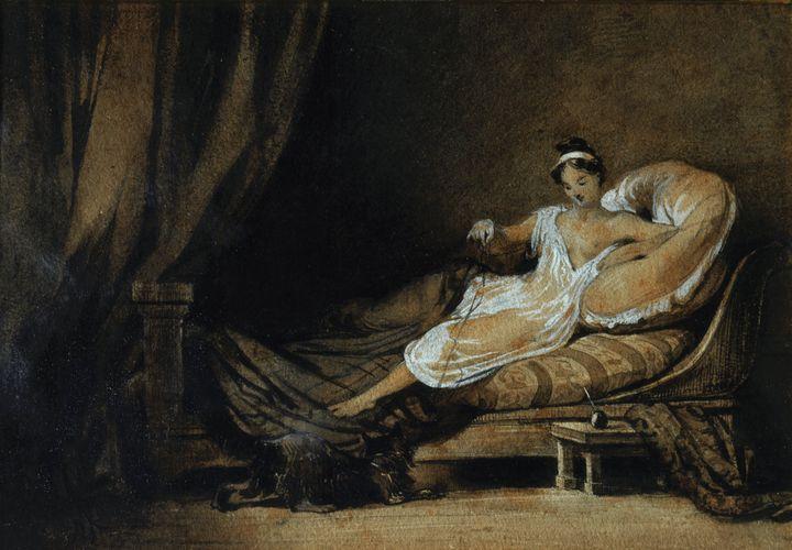 Johann Moritz Rugendas~Woman from Bu - Artmaster