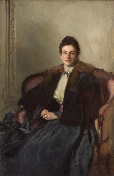 John Singer Sargent~Portrait of Mrs. - Artmaster