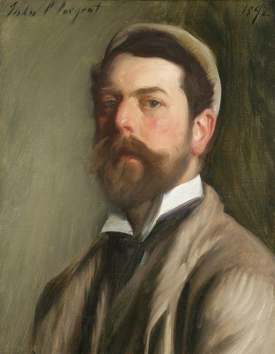John Singer Sargent~Self Portrait - Artmaster