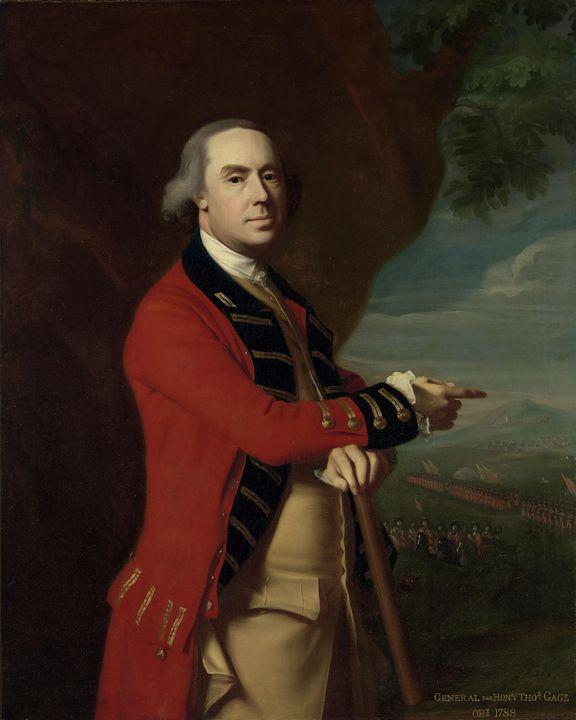 John Singleton Copley~General Thomas - Artmaster