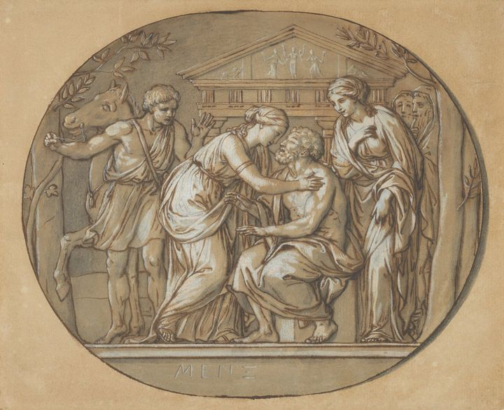Anton Raphael Mengs~Oedipus before t - Artmaster