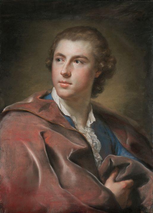 Anton Raphael Mengs~Portrait of Will - Artmaster