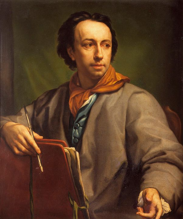 Anton Raphael Mengs~Self-portrait (2 - Artmaster