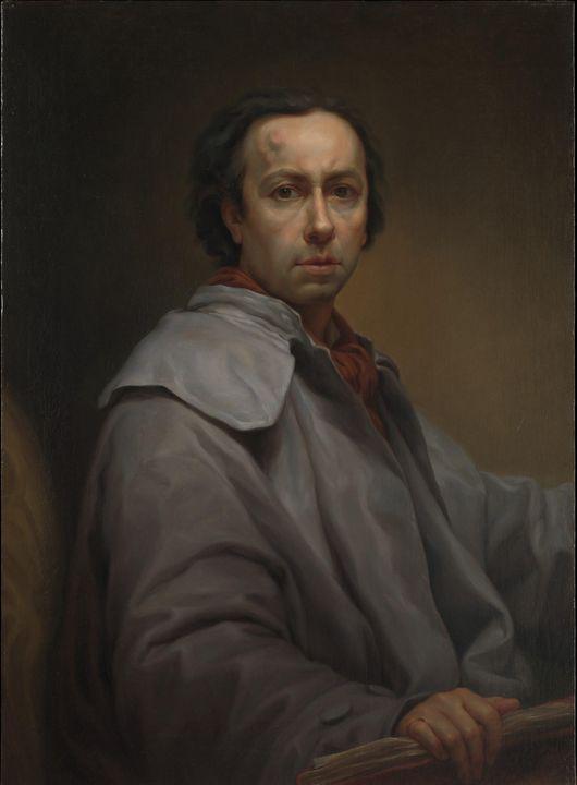 Anton Raphael Mengs~Self-Portrait - Artmaster