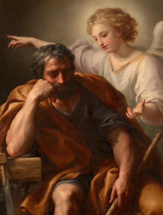 Anton Raphael Mengs~The Dream of St. - Artmaster