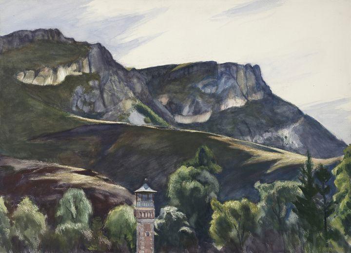 Edward Hopper~-Guanajuato, Mexico - Artmaster