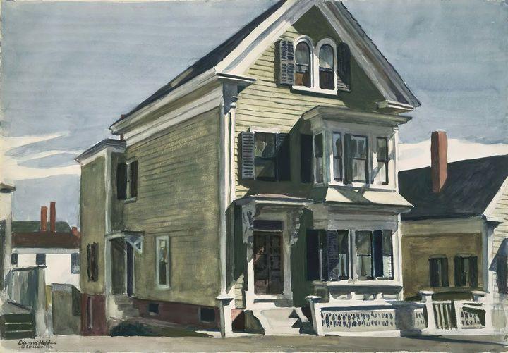 Edward Hopper~Anderson's House - Artmaster