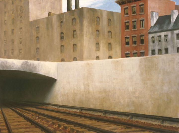 Edward Hopper~Approaching a City - Artmaster