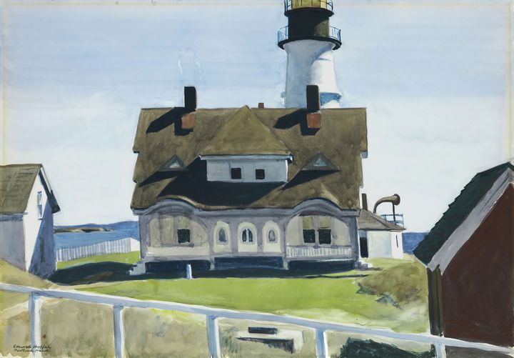 Edward Hopper~Captain Strout's House - Artmaster