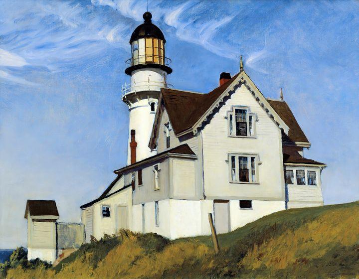 Edward Hopper~Captain Upton's House - Artmaster