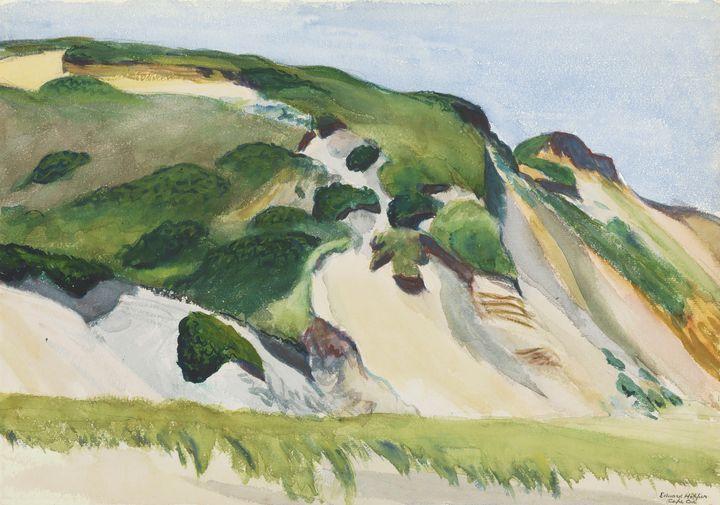 Edward Hopper~Dune at Truro - Artmaster