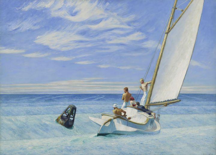 Edward Hopper~Ground Swell - Artmaster