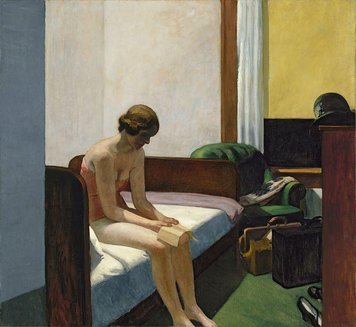 Edward Hopper~Hotel Room - Artmaster