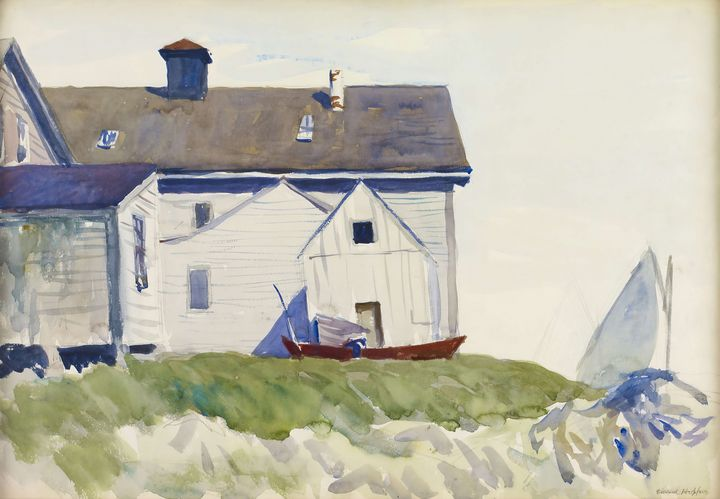 Edward Hopper~House and Boats (also - Artmaster
