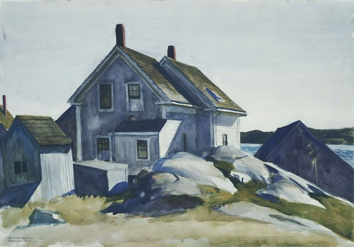 Edward Hopper~House at the Fort, Glo - Artmaster