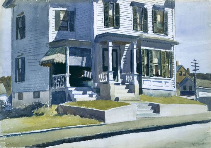 Edward Hopper~House on Middle Street - Artmaster