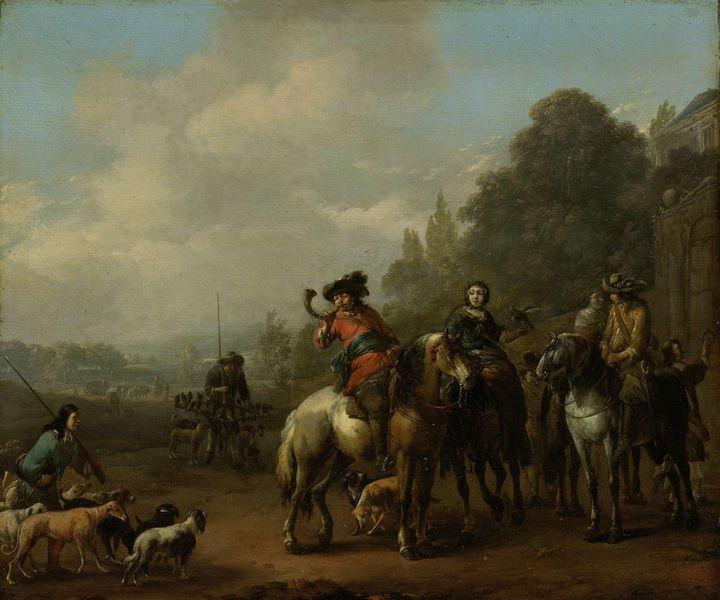 Johannes Lingelbach~Return from the - Artmaster