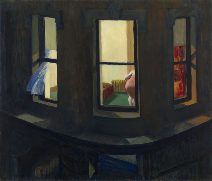 Edward Hopper~Night Windows - Artmaster