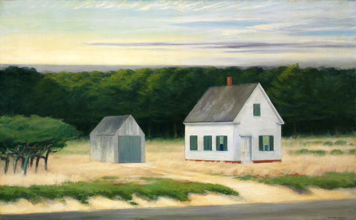 Edward Hopper~October on Cape Cod - Artmaster