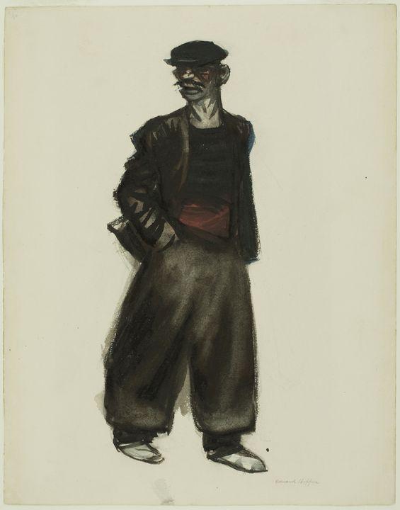 Edward Hopper~Road-Mender - Artmaster