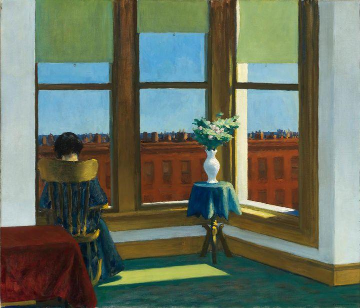 Edward Hopper~Room in Brooklyn - Artmaster