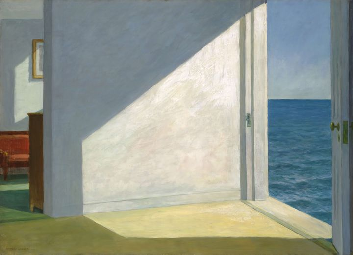 Edward Hopper~Rooms by the Sea - Artmaster