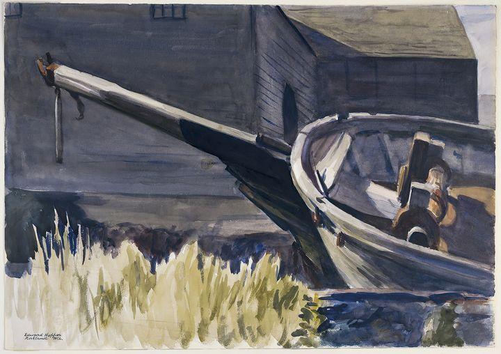 Edward Hopper~Schooner's Bowspirit - Artmaster