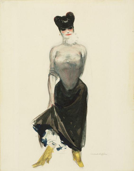 Edward Hopper~Streetwalker - Artmaster