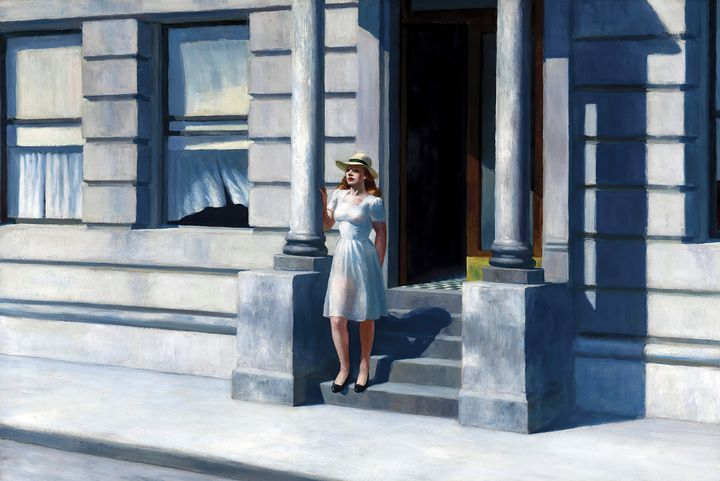 Edward Hopper~Summertime - Artmaster