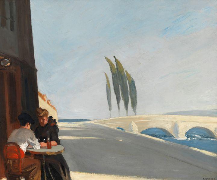 Edward Hopper~The Wine Shop - Artmaster
